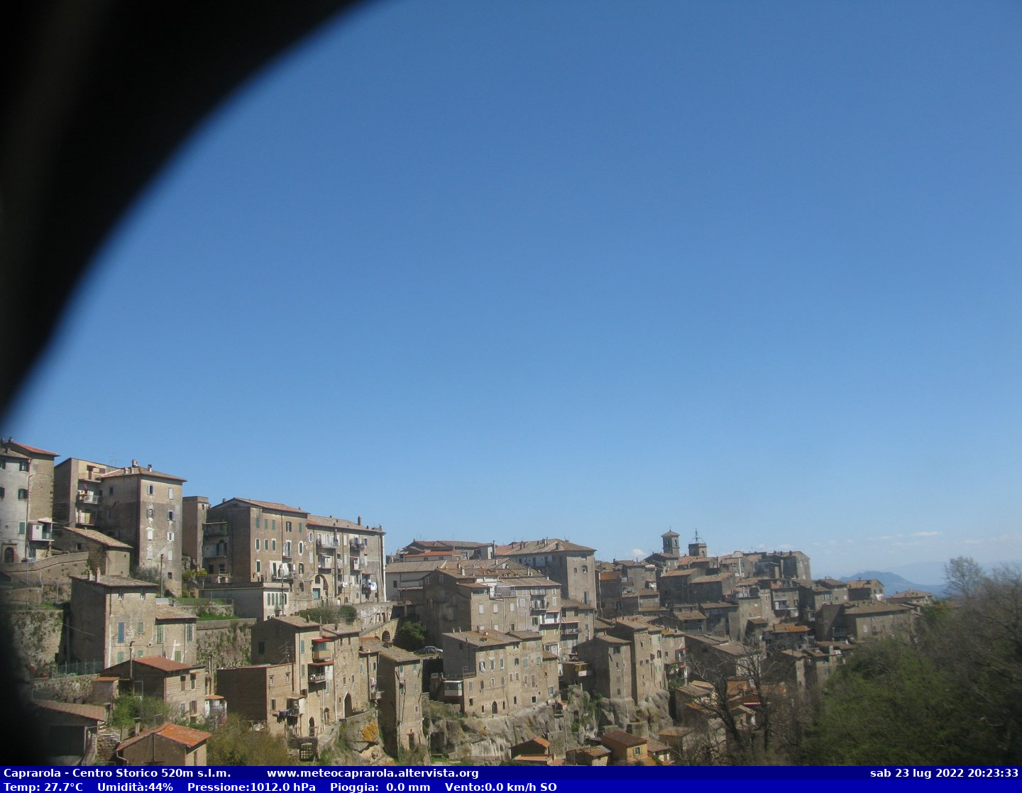Webcam a Caprarola (VT)